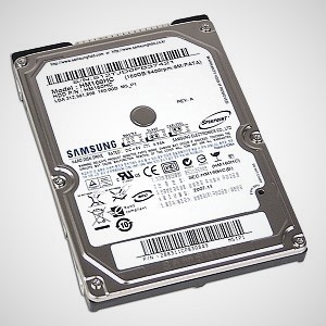 HP Designjet T1500, T2500 and T920 Hard Drive